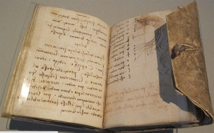 Codex Leicester được biết đến là cuốn sách cổ có giá đắt nhất trên thế giới hiện nay
