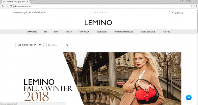 Website của LEMINO