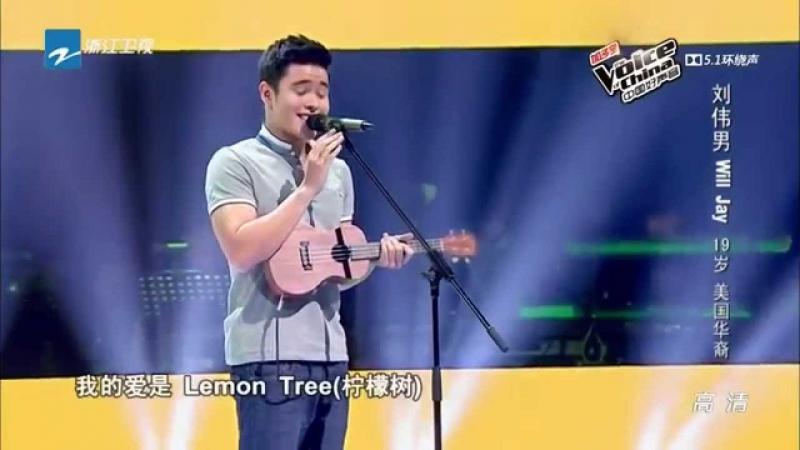 Khả năng hát tiếng Anh lẫn tiếng Trung của anh chàng con lai này cực kỳ tốt