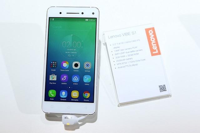 Lenovo Vibe S1 là một trong những chiếc điện thoại chụp ảnh đẹp nhất cho sinh viên