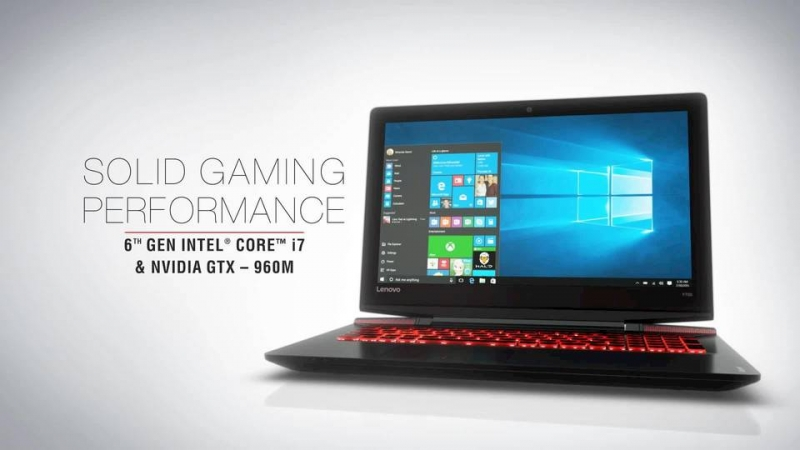 Lenovo Y700, laptop gaming thiết kế nam tính và sang trọng