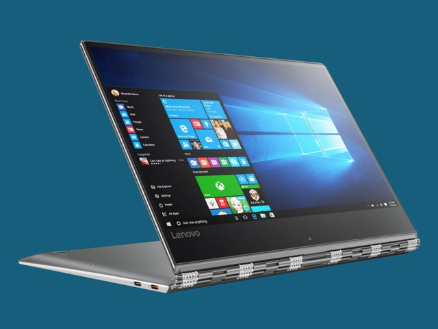 Lenovo Yoga 910: lựa chọn cá tính với màn hình lớn hơn một chút so với các đối thủ