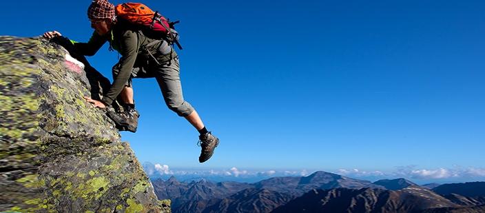 Leo núi cũng là biện pháp giảm Calo hiệu quả