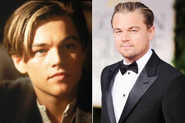 Anh trong vai diễn Jack khi còn trẻ (bên trái)