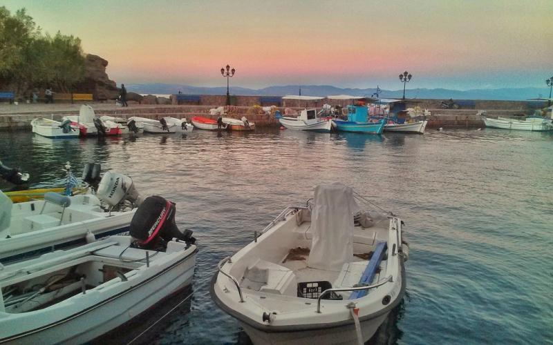 Lésvos là một hòn đảo nghỉ dưỡng lý tưởng
