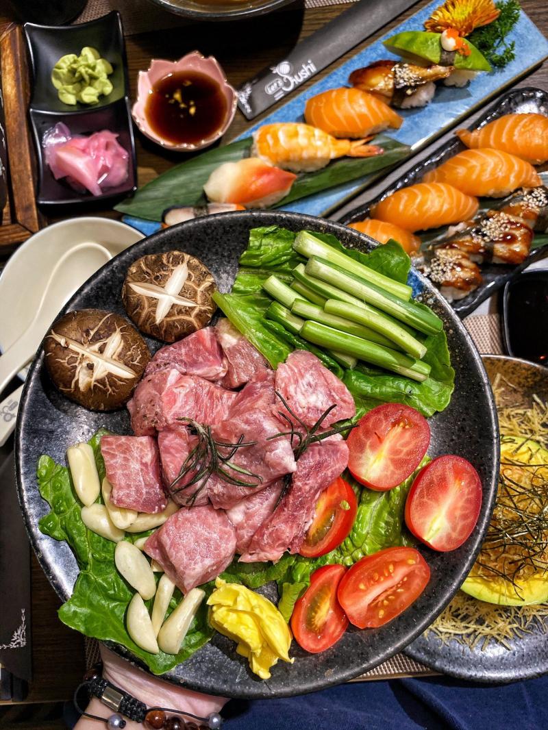 Let's Sushi -Sushi Online đầu tiên tại Hà Nội