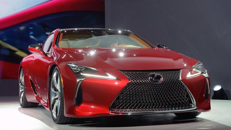 Lexus LC 2017 có thiết kế khí động học cực kỳ ấn tượng