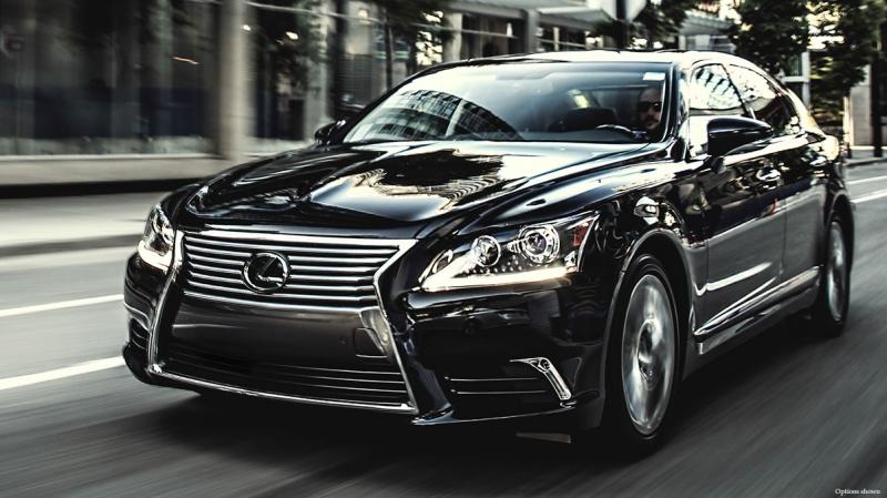 Lexus LS600h L hybrid 2016