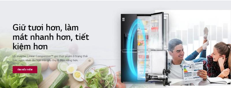 Hãng tủ lạnh LG