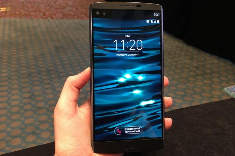 Thiết kế ấn tượng của LG V10