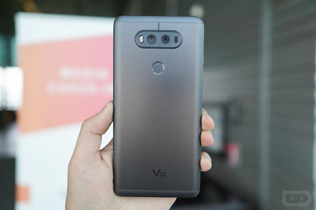 Flagship của LG, chiếc V20 là bản nâng cấp xuất sắc của LG V10