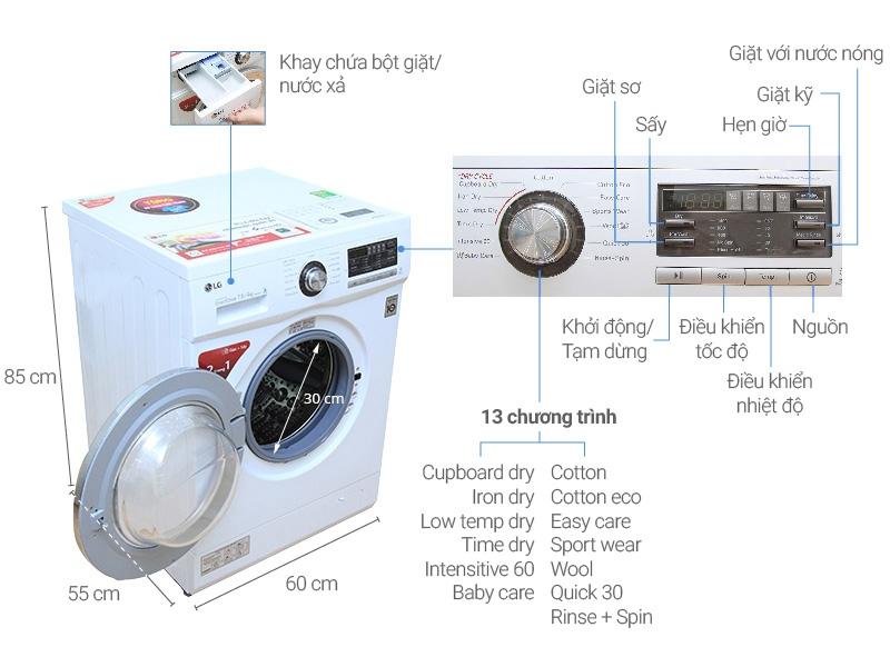 LG WD-18600 7.5 Kg