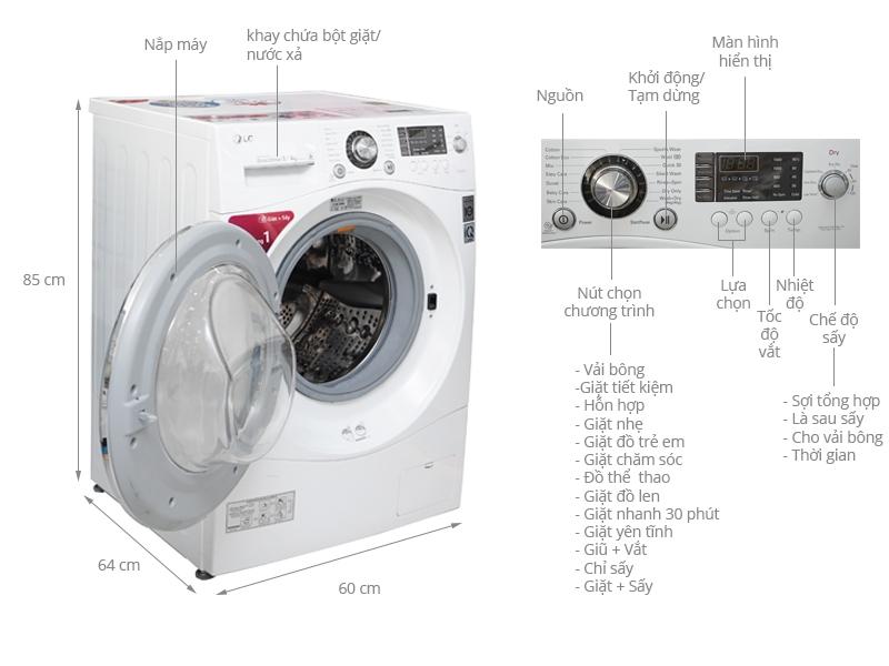 LG WD-20600 8 Kg