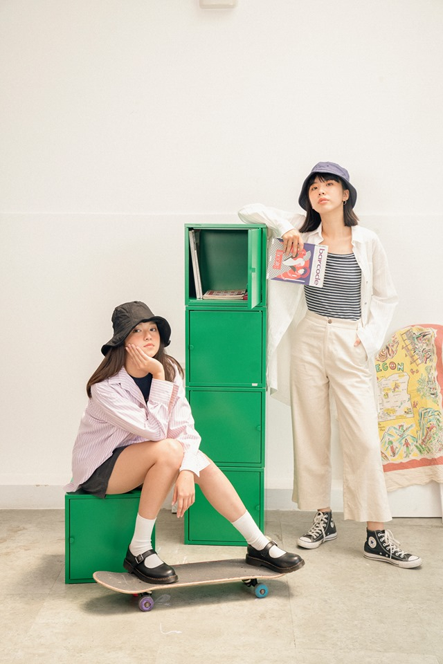 Các thiết kế của Libé đa số là những item basic như áo thun, quần shorts, những mẫu đầm dáng suông hoặc một chút cách điệu theo xu hướng minimalism