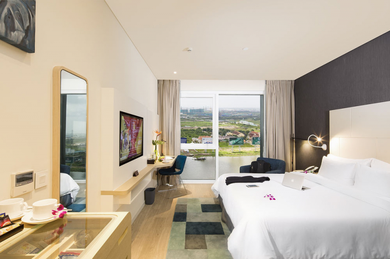 Phòng ngủ đẹp và tinh tế đến từng chi tiết