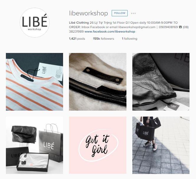 Libeworkshop - shop chuyên về quần áo