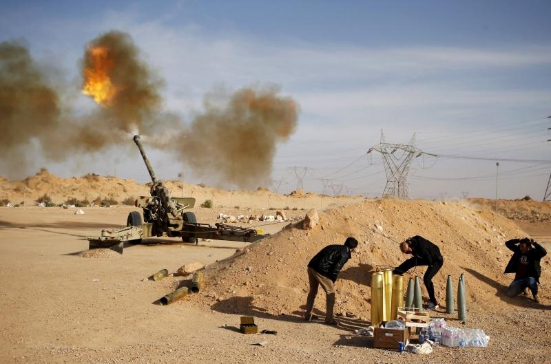 Chiến tranh cũng chính là nguyên nhân lớn nhất khiến dân Libya di cư (Nguồn: Sưu tầm)