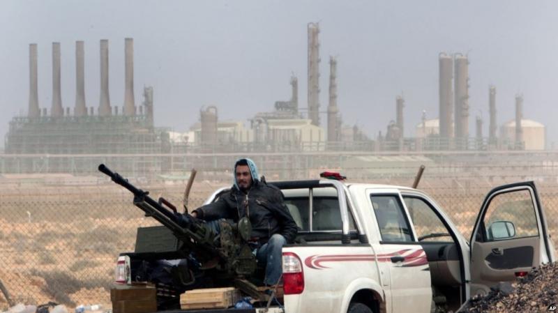 Chiến tranh đã làm ảnh hưởng rất lớn đến khai thác dầu mỏ của Libya.