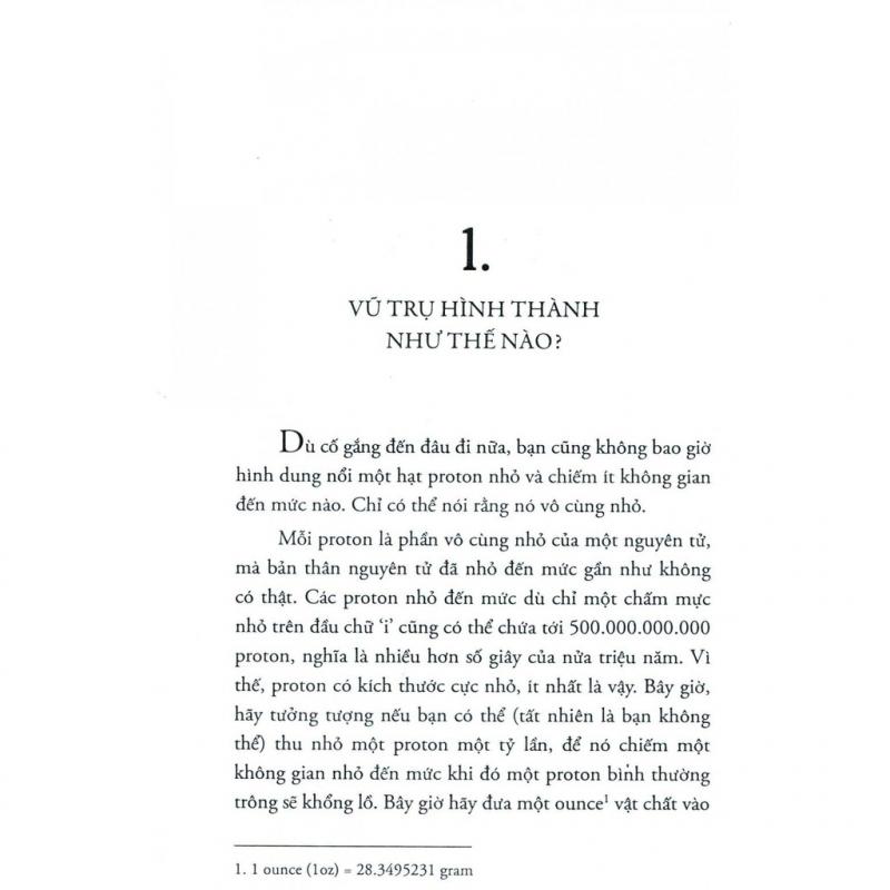 Nội dung cuốn sách Lịch sử vạn vật