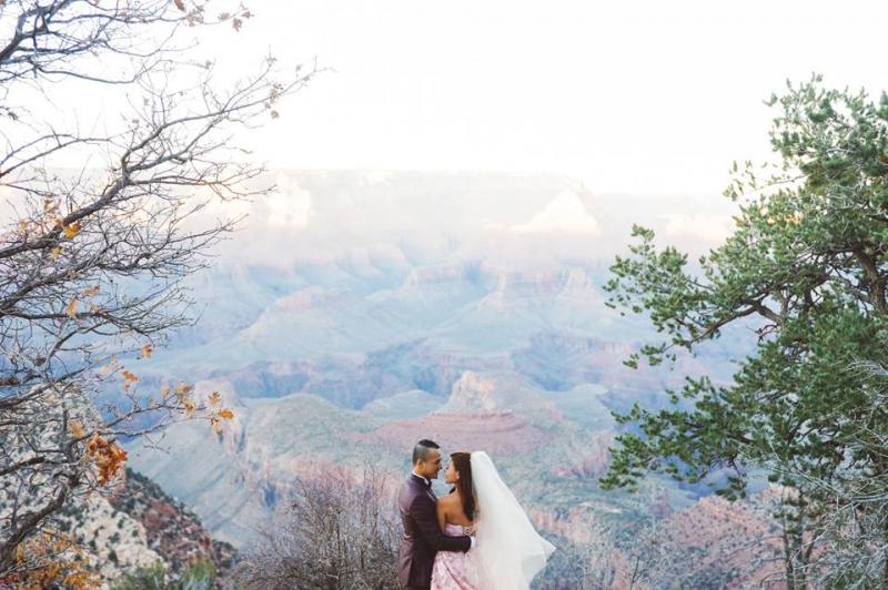 Ảnh cưới của Liebe mang phong cách tự nhiên và lãng mạn
