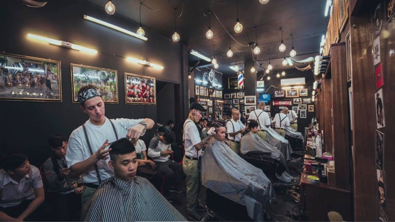 Liêm Barber Shop là tiệm làm tóc chất nhất Sài Gòn
