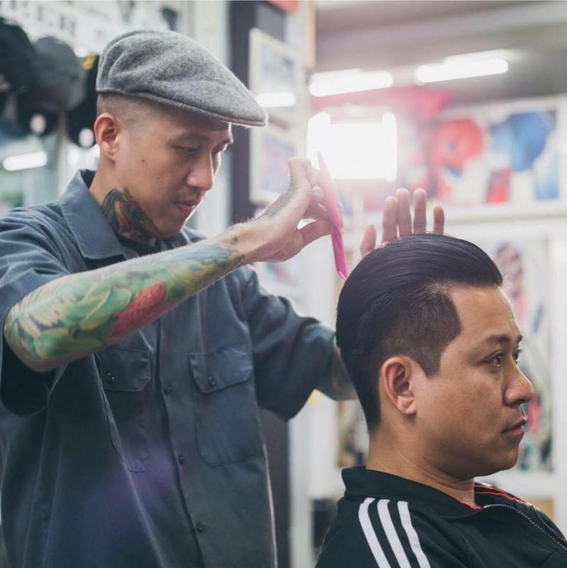 Liêm Barber Shop là địa chỉ yêu thích của nhiều người nổi tiếng