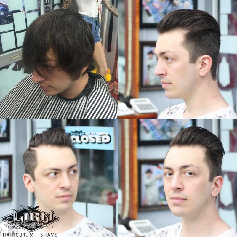 Cắt tóc là thành soái ca ngay