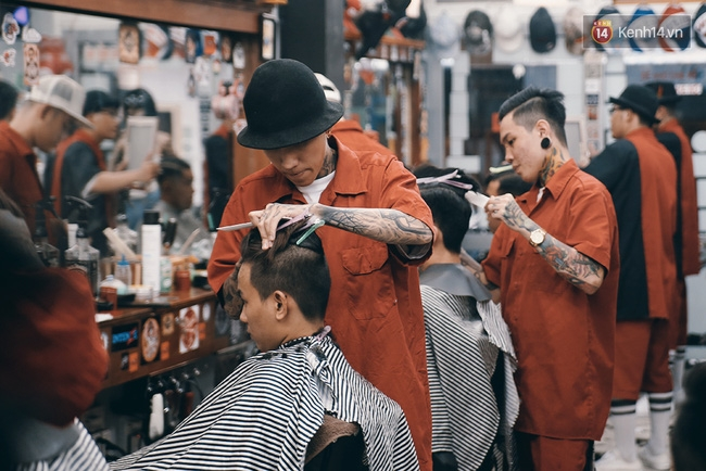 Những barber chất sẽ tạo ra những quả đầu chất.