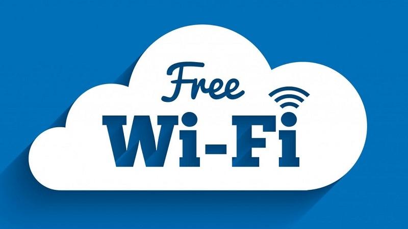 Hệ thống wifi miễn phí mọi nơi