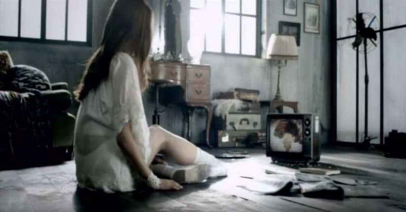 Một cảnh trong MV