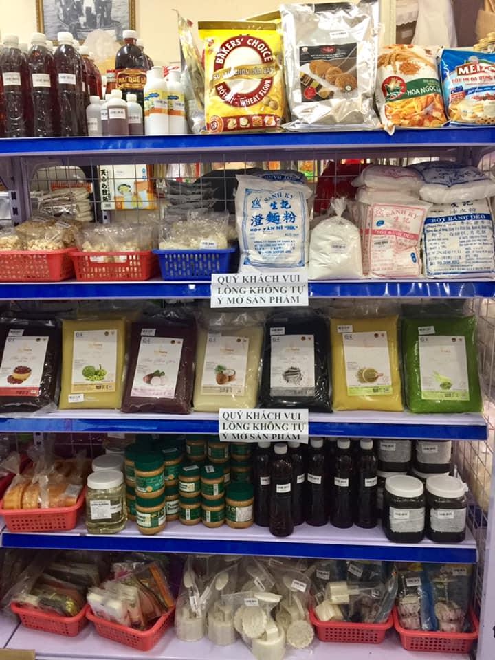 Nguyên liệu làm bánh đa dạng tại Like Shop