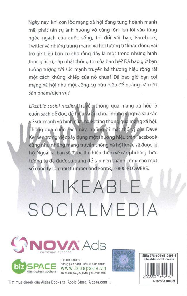 Likeable Social Media (Truyền Thông Qua Mạng Xã Hội)