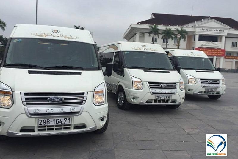 Limousine Hà Nội đi Thái Bình Nhà xe Vĩnh Thịnh