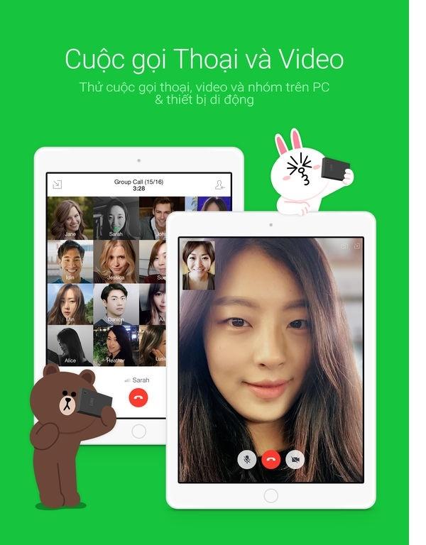 LINE cũng là một trong những ứng dụng tin nhắn quen thuộc rất phổ biến được sử dụng với hơn 600 triệu người