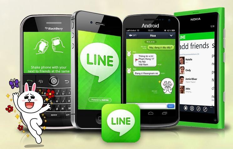Ứng dụng Line