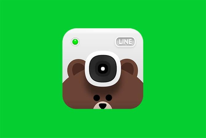 Logo LINE Camera