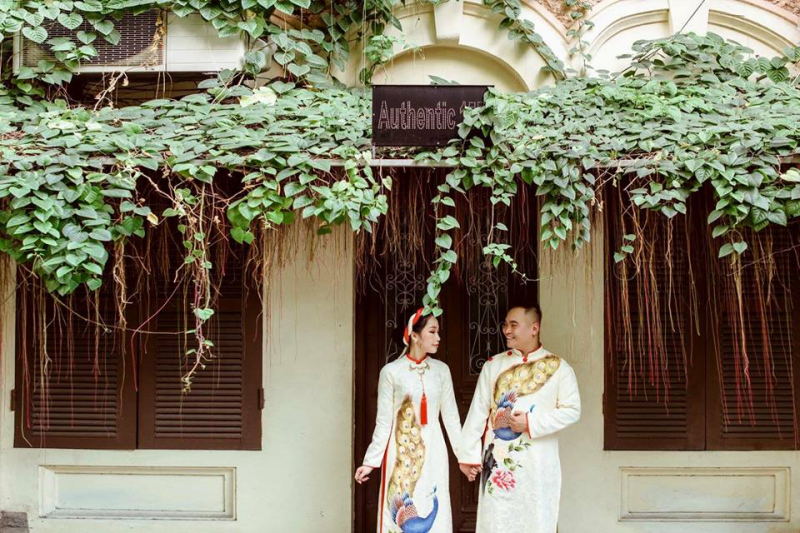 Linh Khánh Hà – Địa chỉ cho thuê áo dài cưới đẹp Lạng Sơn