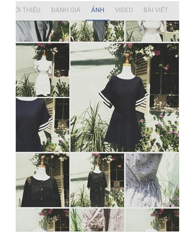 Đầm của Linh Si cực kỳ xinh xắn cho các bạn gái diện đi chơi.