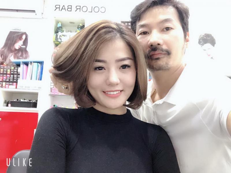 Tóc kiểu do salon làm