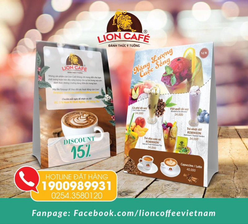 Lion coffee - Vũng Tàu