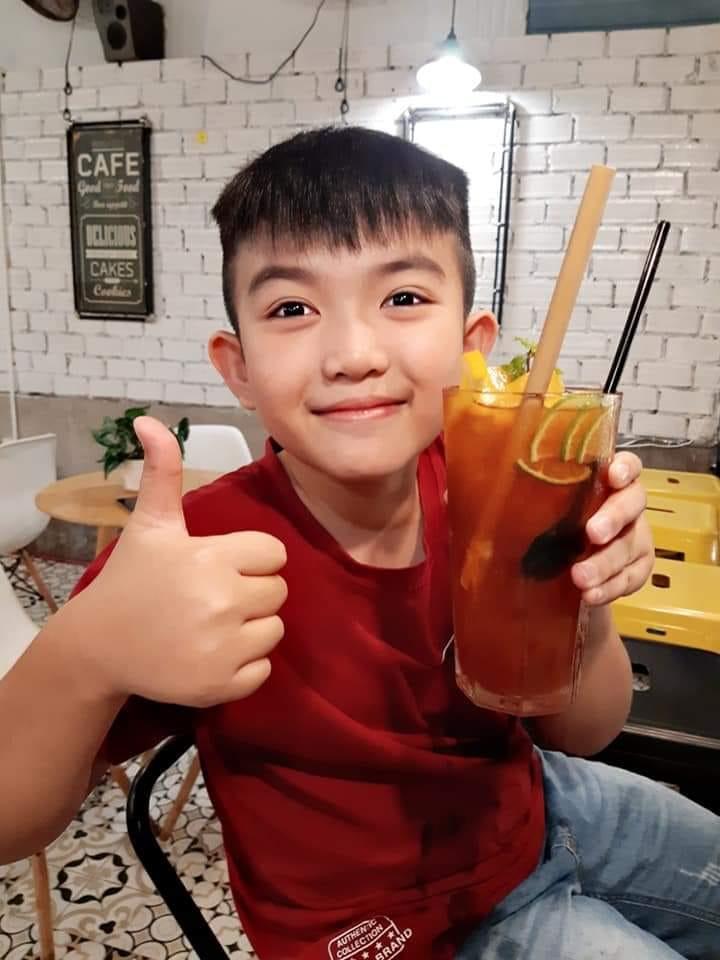 Món trà đào cam sả được yêu thích tại Haiyang Tea - 53 Lý Tự Trọng