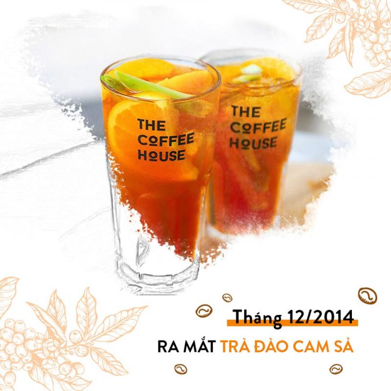 Trà đào cam sả của quán The Coffee House ra mắt khách hàng từ 2014