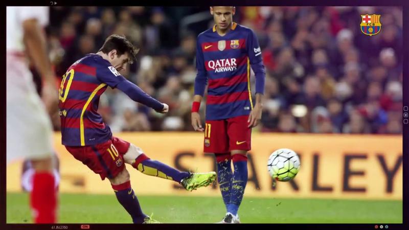 Lionel Messi sút phạt