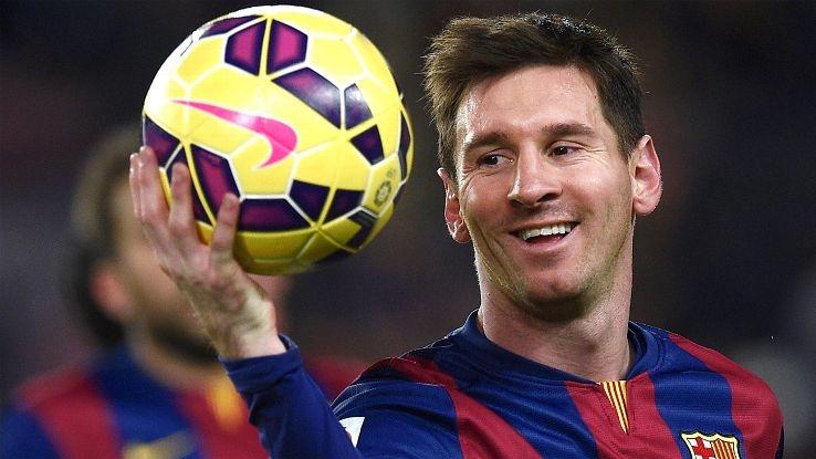 Lionel Messi, bóng đá: 81,4 triệu USD
