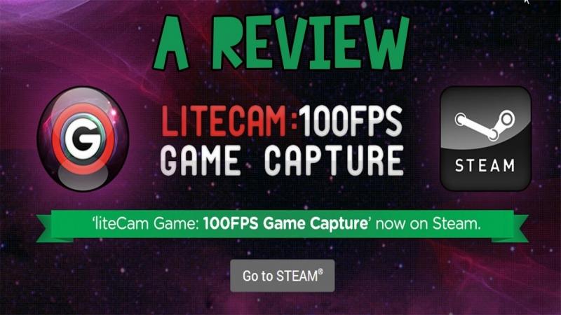 Phần mềm quay video game LiteCam Game