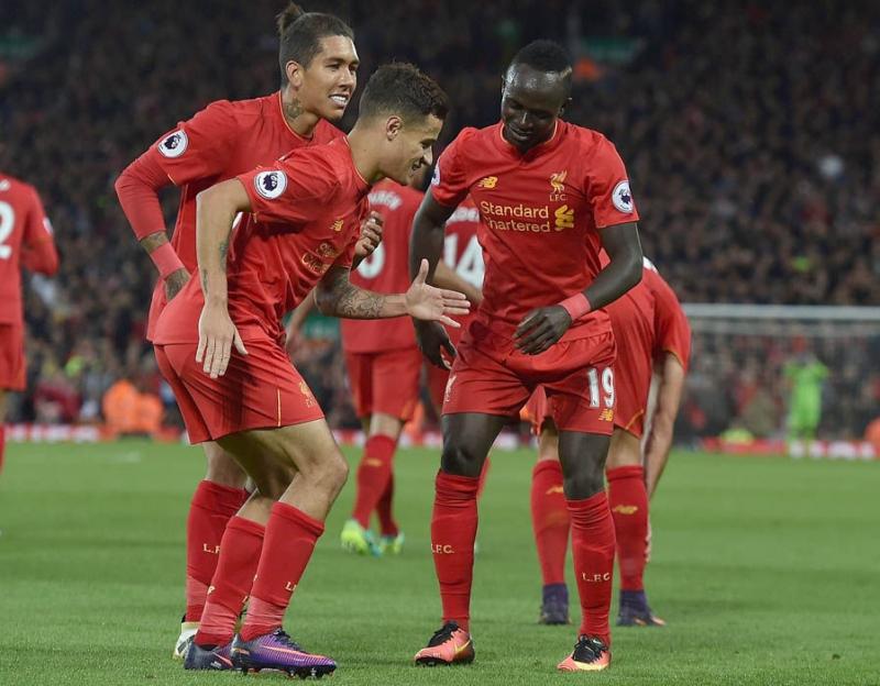 Bộ 3 tấn công của Liverpool đang đá rất hay