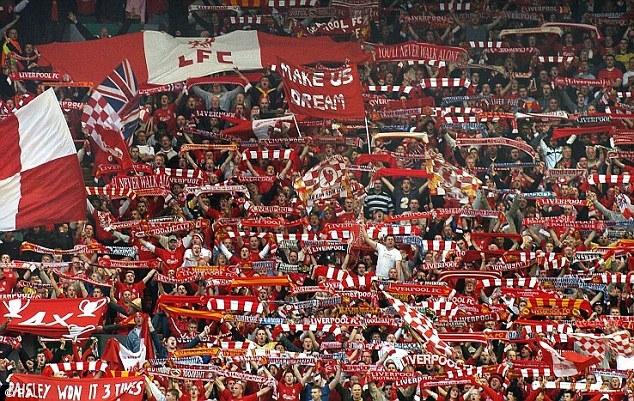 Cổ động viên của  Liverpool