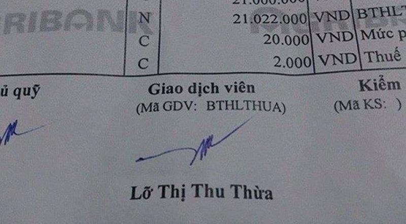 Lỡ Thị Thu Thừa