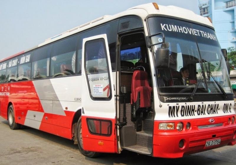 Xe khách từ Hà Nội đi Hạ Long