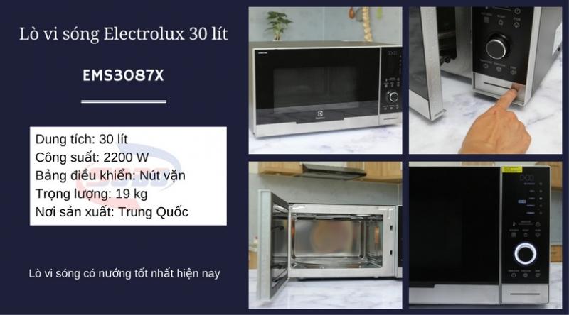 Lò vi sóng Electrolux EMS3087X 30 lít